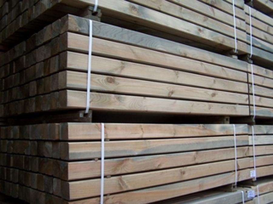 Kantholz 90x90 210 cm lang KDI
