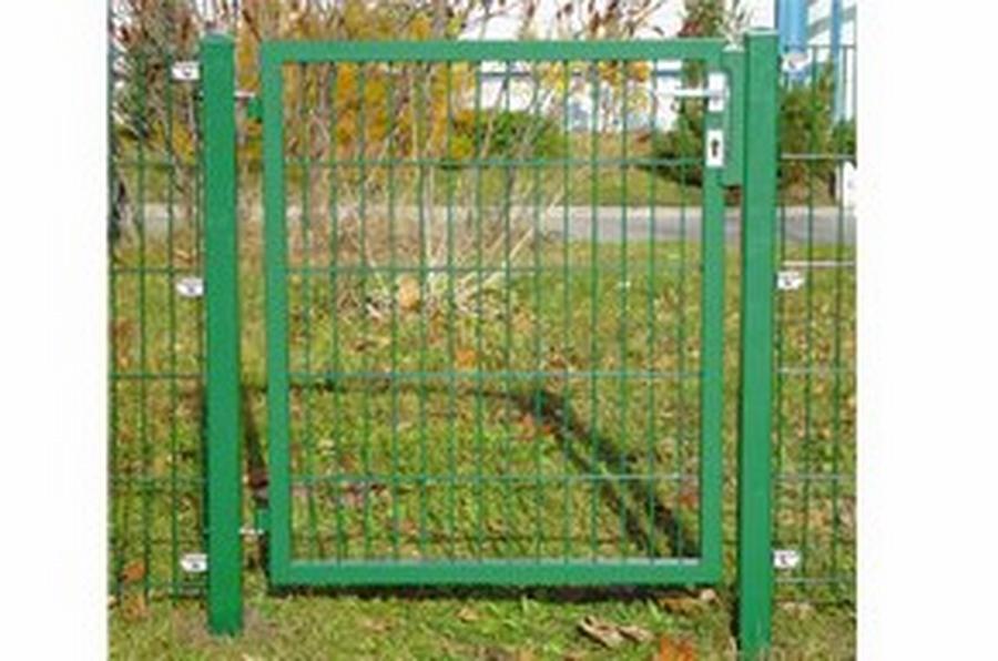Einzelgartentor für Stabmattenzaun 100 x 140 cm (BxH) verzinkt