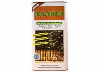 Holzanstrich braun á 5 Liter