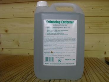 Grünbelagentferner 5,0 Liter