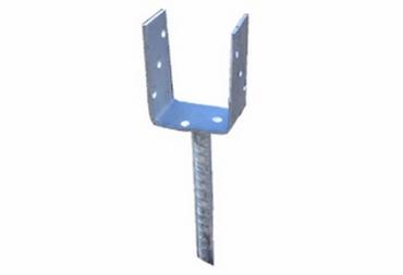 Pfostenträger U-Form für 115er Kanthölzer Dolle 200 mm