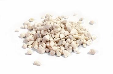 Marmorsplitt 9/12 weiß á 25 Kg