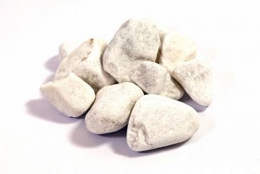 Marmorkies 40/60 weiß á 25 Kg