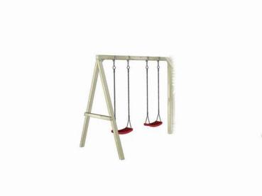 Doppelschaukelgestell für Kinderstelzenhaus Tobi