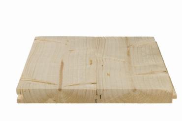 Rauspund 21x121x4500 mm mit Nut und Feder, nordische Fichte