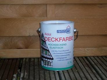 Deckfarbe weiß RAL 9010/9016 á 2,5 Liter