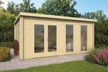 Gartenhaus 40mm  Annabel 500x400 cm