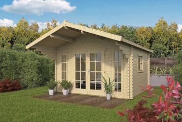 Gartenhaus 44mm  Inglund 380x320+150 cm