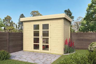 Gartenhaus 28mm  Minimodern 300x200 cm