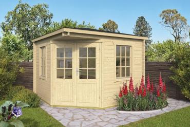 Gartenhaus 40mm  Emma 302x302 cm