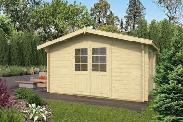 Gartenhaus 40mm  Dyre 400x300+40 cm