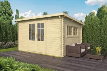 Gartenhaus 28mm  Loya 380x300 cm