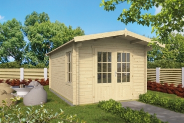 Gartenhaus 40mm  Julia 300x500+68 cm