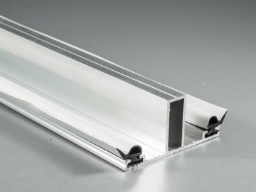 Alu-Mitteldeckprofil 2000 mm für 16er Stegplattenstärke