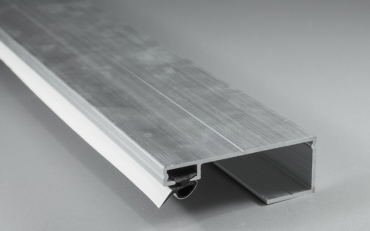 Alu-Randprofil 2000 mm für 8er/10er Glasstärke