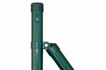 Zaunstrebe 230 cm für 230er Zaunpfahl grün Ø 38 mm