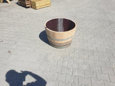 Halbes Weinfass Blumenkübel Madrid 225 Liter