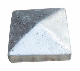 Pfostenkappe Pyramide 90x90 mm Stahl verzinkt
